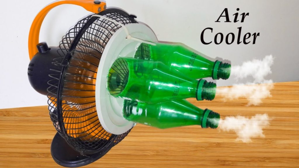 how to make air cooler without water