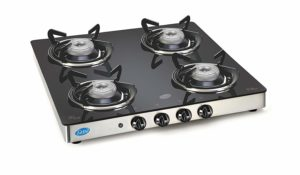 Glen 4 Burner Auto Ignition Gas Stove