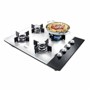 Best 4 Burner Gas Stove with Glass Top