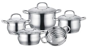 5 ply stainless steel cookware