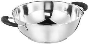 Best Stainless Steel Induction Bottom Kadai in India